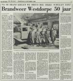 Brandweer Westdorpe 50 jaar